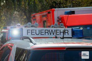 Am Samstag wird in Münster eine Großübung von DRK, Freiwilliger Feuerwehr und Clemenshospital stattfinden. (Archivbild: Thomas Hölscher)