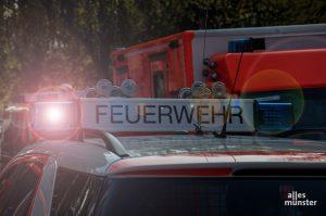 Bei dem Feuer konnten sich 10 Personen in Sicherheit bringen, es wurde niemand verletzt. (Symbolbild: Thomas Hölscher)