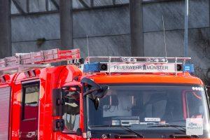 Zwei größere Einsätze hielten die Feuerwehr der Stadt Münster am Sonntag auf Trab: Brände in einem Hotel und in einem Laborgebäude. (Archivbild: Thomas Hölscher)