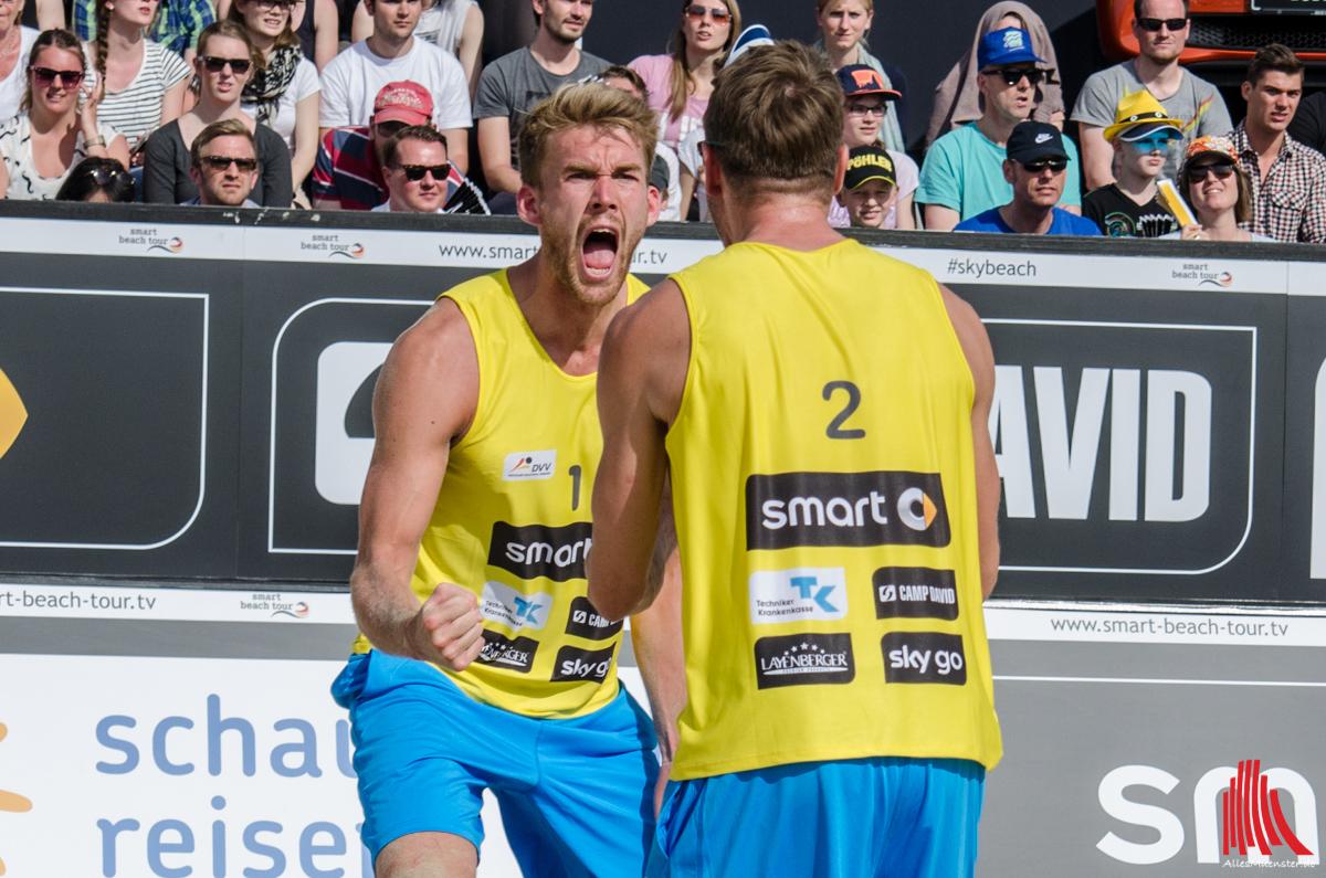 Das Team Walkenhorst / Windscheif zieht ins Halbfinale ein. (Foto: th)