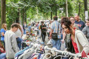 Zum letzten Mal in diesem Jahr findet am Samstag der Flohmarkt auf der Promenade statt. (Foto: rc)