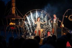 Das Theater Titanick feiert am Aasee im Rahmen der Flurstücke 015 sein 25-jähriges Jubiläum. (Foto: th)