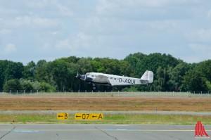 Tante Ju - die dreimotorige Ju 52 (Foto: sg)