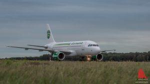 Dadurch, dass ein zweites Flugzeug der Fluggesellschaft Germania am FMO stationiert wurde, stieg das Touristikgeschäft deutlich an. (Foto: wf / Weber)