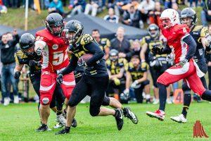 Die Blackhawks schlagen die Mammuts mit 35:0. (Foto: cf)