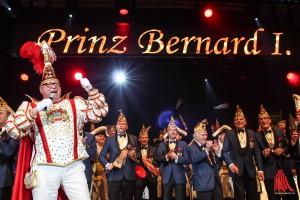 Für Prinz Bernard Homann I. war die Gala seiner Muttergesellschaft ein echtes Heimspiel. (Foto: je)