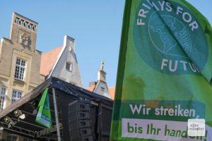 """Die Initiative """"Fridays for Future Münster"""" kündigt Bürgerbegehren an, falls der Rat dem Antrag """"Klimaneutralität bis 2030"""" nicht zustimmt. (Archivbild: Susanne Wonnay)"""