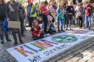 2019 streikten über 20.000 Menschen in Münster für das Klima, die Stadt rief den Klimanotstand aus und beschloss inzwischen sogar, bis 2030 klimaneutral zu werden. (Arhivbild: Susanne Wonnay)