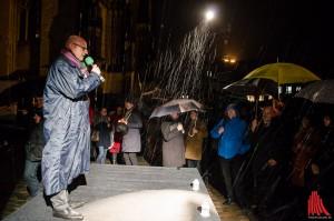 """Für Oberbürgermeister Markus Lewe ist klar: """"Wir dürfen uns in unserem täglichen Leben nicht von der Angst beherrschen lassen."""" (Foto: th)"""