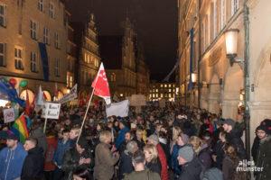 Die Organisatoren rechnen wieder mit mehreren Tausend Menschen, in der Innenstadt gegen die AfD demonstrieren. (Archivbild: Carsten Pöhler)