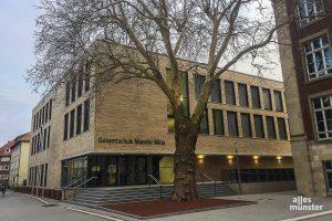 Die Anmeldungen an den städtischen Gesamtschulen, wie hier der Gesamtschule Münster-Mitte, übersteigen wieder deutlich das Angebot. (Archivbild: Thomas Hölscher)