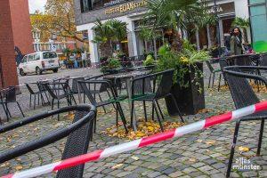 Warten auf Kunden: Restaurants, Kneipen, Hotels und Geschäfte sind seit Monaten im Lockdown. Die Gewerkschaft NGG fordert von der Politik eine Öffnungsstrategie für das Gastgewerbe und den Handel. (Archivbild: Thomas Hölscher)