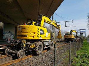 Auf der Bahnstrecke zwischen Coesfeld und Münster sind umfangreiche Gleisarbeiten notwendig. (Symbolbild: CC0)