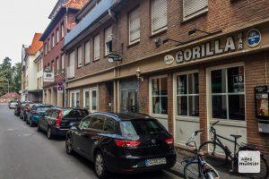 Die Gorilla Bar in der Jüdefelder Straße. (Foto: Thomas Hölscher)