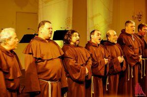 Für ein überzeugendes Konzert brauchen die Gregorian Voices nicht mehr als ihre Stimmen. (Foto: ka)