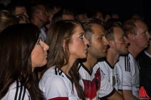 Spannung gab es eigentlich nur bei der Frage, wann die Deutschan das nächste Tor erzielen. (Foto: th)
