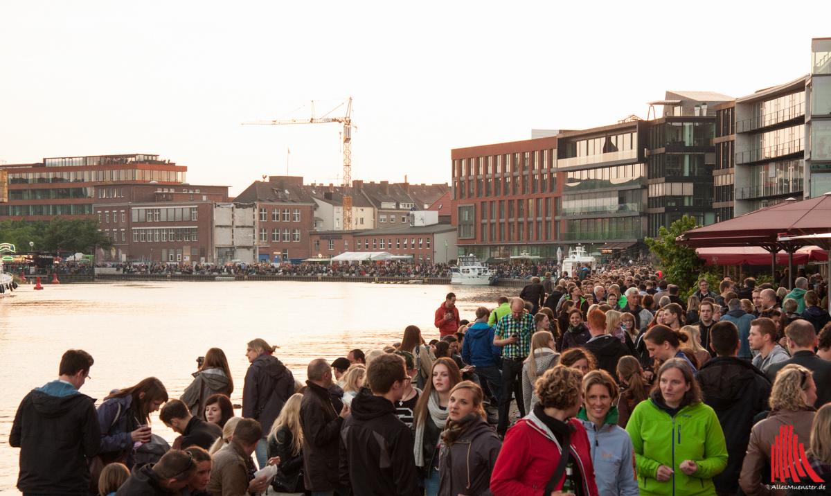 Die Kulturlotsen vom Fachbereich Sozialwesen der FH Münster laden Menschen mit und ohne psychische Erkrankung ein, gemeinsam das Hafenfest zu besuchen. (Foto: sg)