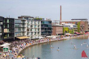 Etwa 70.000 Besucher tummelten sich am vergangenen Wochenende auf dem Hafenfest. (Foto: tm)