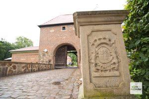 Das Schloss Sythen liegt direkt an der Route (Foto: Bührke)