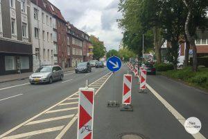 Auch auf der Hammer Straße wird die Fahrbahn instand gesetzt. (Archivbild: Thomas Hölscher)