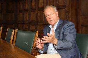 Prof. Friso Wielenga leitet das Zentrum für Niederlande-Studien im Haus der Niederlande. (Foto: privat)