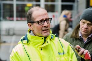 Verkehrsplaner Michael Milde wirbt für Rücksichtnahme im Hamburger Tunnel. (Foto: th)
