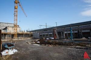 Voraussichtlich Ostern 2017 soll der neue Hauptbahnhof in Betrieb genommen werden können. (Foto: cabe)