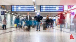 Reisende und Besucher erwartet ein neuer, attraktiver und moderner Hauptbahnhof. (Foto: wf / Weber)