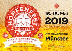 Hopfenfest Münster: 16. - 18. Mai 2019
