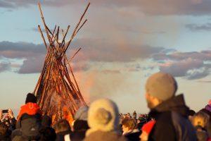 Am Wochenende werden auch in Münster wieder Osterfeuer entzündet. (Symbolbild: CC0)