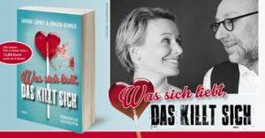 """""""Was sich liebt, das killt sich"""" heißt das neue Buch von Sandra Lüpkes und Jürgen Kehrer. (Grafik: KBV Verlag)"""