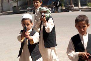 In Afghanistan werden bereits kleine Kinder an der Waffe ausgebildet. (Foto: Maurice Ressel)