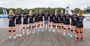 ALLES MÜNSTER stärkt den Volleyballerinnen der WWU Münster bei der Hochschul-EM in Polen den Rücken. (Foto: Jörg Papke)
