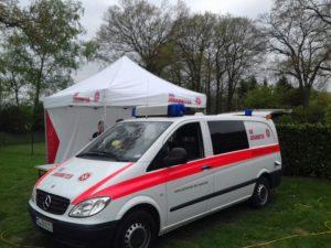 Ein ruhiger Maifeiertag für Münsters Rettungsdienste. (Foto: Johanniter Unfallhilfe)
