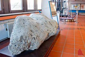 Das Institut für Planetologie verfügt über eine der größten Meteoritensammlungen weltweit. Allerdings ist die Sammlung nicht öffentlich zugänglich. (Foto: mb)