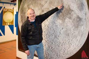 Harald Hiesinger ist Professor am Institut für Planetologie an der WWU Münster. (Foto: Michael Bührke)