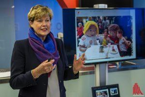 Dr. Ursula Paschke, Geschäftsführerin des MCC Halle Münsterland, zieht eine positive Bilanz für das Jahr 2016 und freut sich auf die Highlights in 2017. (Foto: th)
