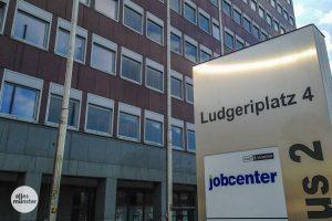 Das Jobcenter in Münster. (Archivbild: Thomas Hölscher)