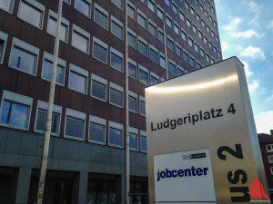 Im Jobcenter wird ab morgen umgebaut. (Foto: th)