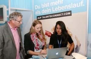 Die Jobmesse Münsterland bringt Bewerber und Arbeitgeber zusammen. (Foto: Promo)