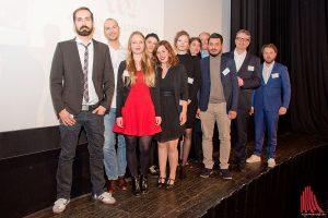 Die Preisträger des diesjährigen Journalistenpreises der Apothekerstiftung Westfalen-Lippe. (Foto: mb)