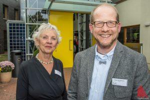 Monika und Simon Schlattmann führen das Familienhaus am UKM. (Foto: th)