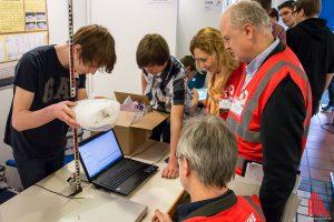 Wie in jedem Jahr präsentieren die Schüler im Februar ihre Projekte beim Finale des IHK-Regionalwettbewerbs in Münster. (Foto: th)