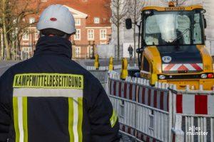 In Münsters Boden stecken wahrscheinlich noch viele Bomben, die gefährliche Arbeit der Kampfmittelbeseitigung ist nach Sonntag noch lange nicht erledigt. (Archivbild: Thomas Hölscher)