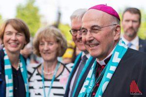 Bischof Dr. Felix Genn blickt zurück auf fünf Veranstaltungstage beim Katholikentag. (Foto: ts)