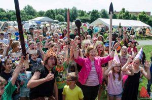 Die Kinderstadt Atlantis lädt ihre Bürgerinnen und Bürger vom 24. Juli bis 11. August zu Ferienerlebnissen im Wienburgpark ein. (Foto: th)