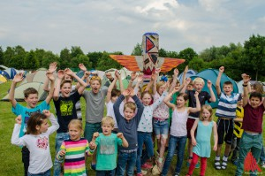 Die Teilnehmer des Kindercamps freuen sich schon auf das bunte Ferienprogramm. (Foto: th)