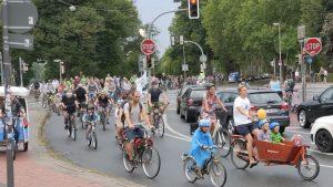 Am 18. September veranstaltet die Kidical Mass Münster die nächste Familien-Fahrraddemo. (Foto: Kidical Mass Münster)