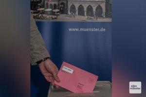 Am 13. September geht's für die Münsteraner bei der Kommunalwahl an die Urne. (Archivbild: Stephan Günther)