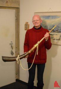 Das historische Horn ist ein Unikat. (Foto: Thomas Hölscher)